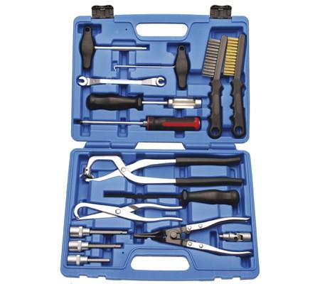 Juego 15 piezas para el mantenimiento y montaje de frenos (Art. 1818)