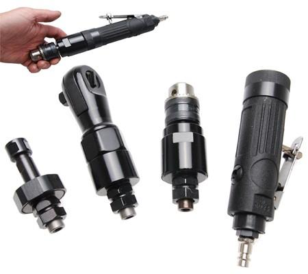 Multi-herramienta neumática con 3 cabezas intercambiables (Art. 3262)