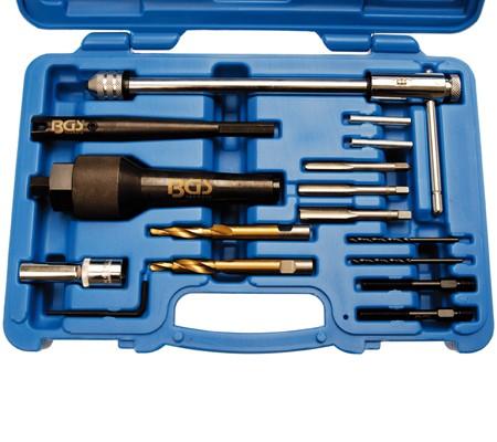 Juego de extracción de calentadores y reparación de roscas (Art. 8297)