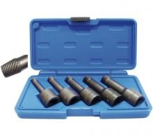 Juego 5 piezas de puntas extractoras en espiral, 1/2, 8-16 mm (Art. 5261)