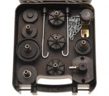 Juego de adaptadores para el sangrador de frenos de aire BGS 8316 (Art. 8316)