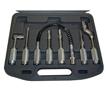 Juego 7 piezas de accesorios para pistolas de grasa (Art. 3142)