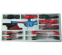 Juego 15 piezas de cables de prueba y accesorios (Art. 2185)