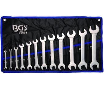 Juego 12 piezas de llaves planas 6-32 mm (Art. 30601)
