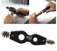 Cepillo limpiador interior-exterior para tubos de cobre (Art. 8342)