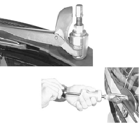 Juego 13 piezas de extracción del brazo del limpiaparabrisas (Art. 65700)