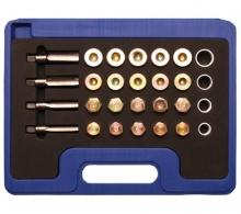 Juego 64 piezas de reparación del tapón del carter (Art. 126)