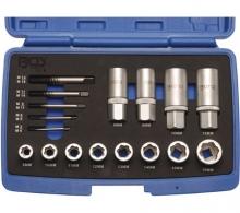Juego 17 piezas extractor tuercas y tornillos (Art. 8378)