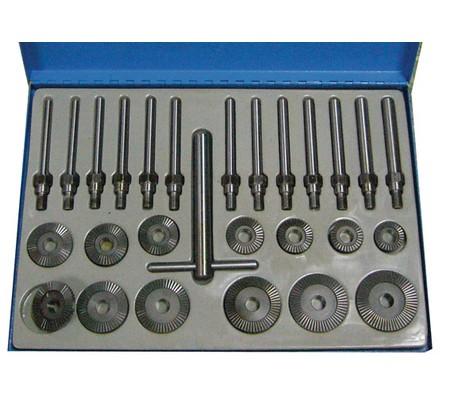 Juego 27 piezas para el corte de asientos de válvulas, 30-60 mm (Art. 1970)