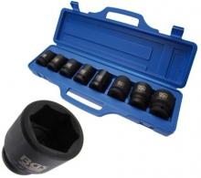 Juego 8 piezas de llaves de impacto 3/4, 22 - 38 mm (Art. 5240)