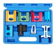 Juego 8 piezas de herramientas de bloqueo de reglaje (Art. 1775)