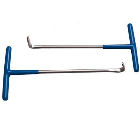 Juego 2 piezas de ganchos para las gomas de los tubos de escape (Art. 8440)