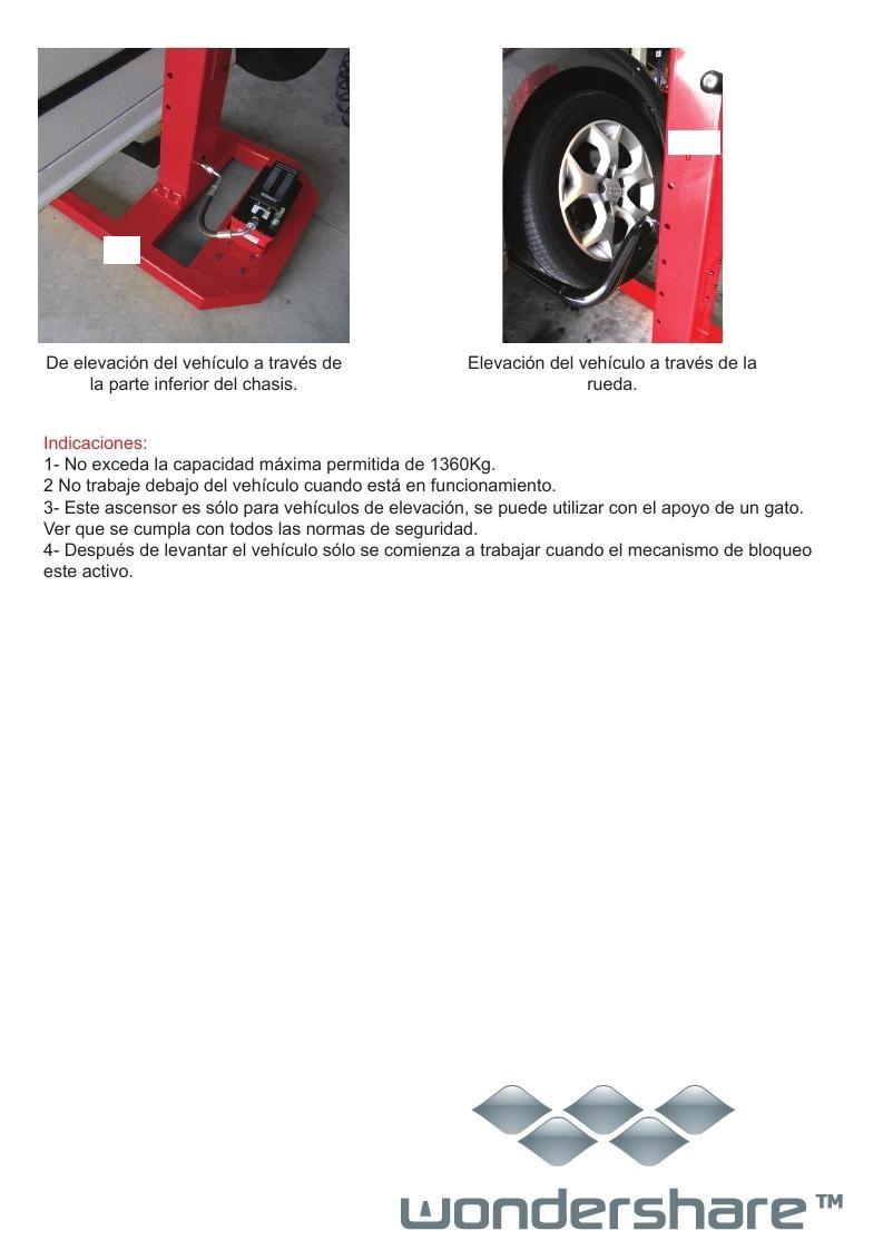 Elevador de coches por rueda
