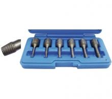Juego 6 piezas de puntas extractoras en espiral, 3/8, 2-10 mm (Art. 5281)