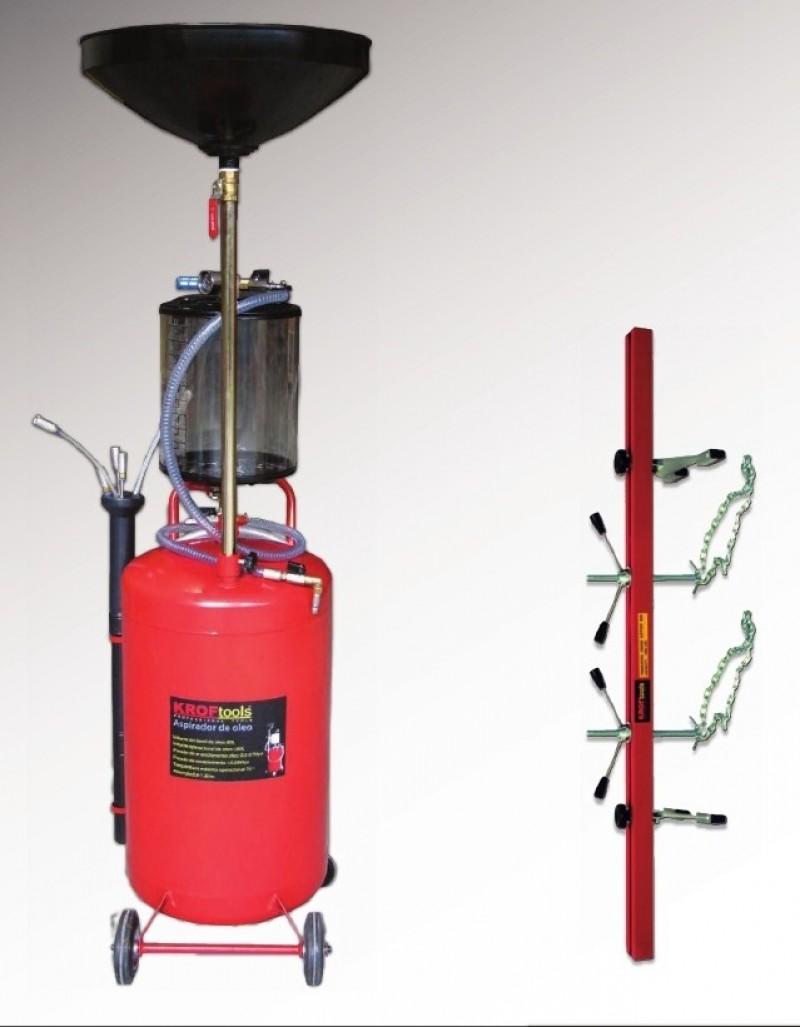 Aspirador aceite y soporte de motor