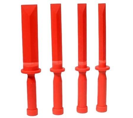 Juego 4 espátulas plásticas, 19-22-25-38 mm (Art. 366)