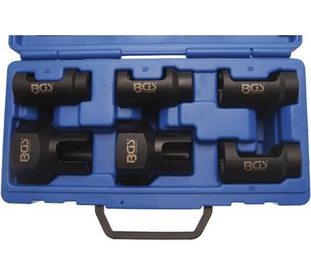 Juego 6 piezas llaves especiales para inyectores (Art. 8295)