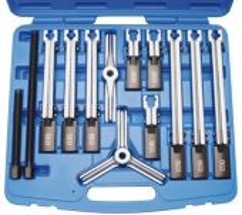 Juego 12 piezas de extractores de 2 y 3 garras (Art. 7760)