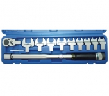 Juego 11 piezas de llave dinamométrica, 40-210 Nm (Art. 958)