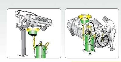 Aspirador de aceite 90L. MECLUBE