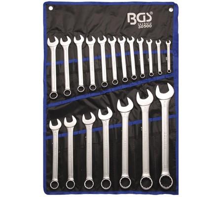Juego19 piezas de llaves combinadas 8-32 mm (Art. 30500)